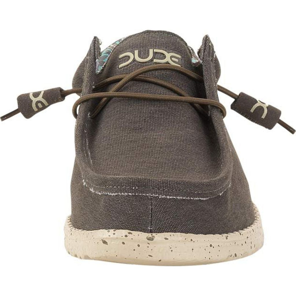 Hey Dude Wally Stretch Shoes | Chocolate