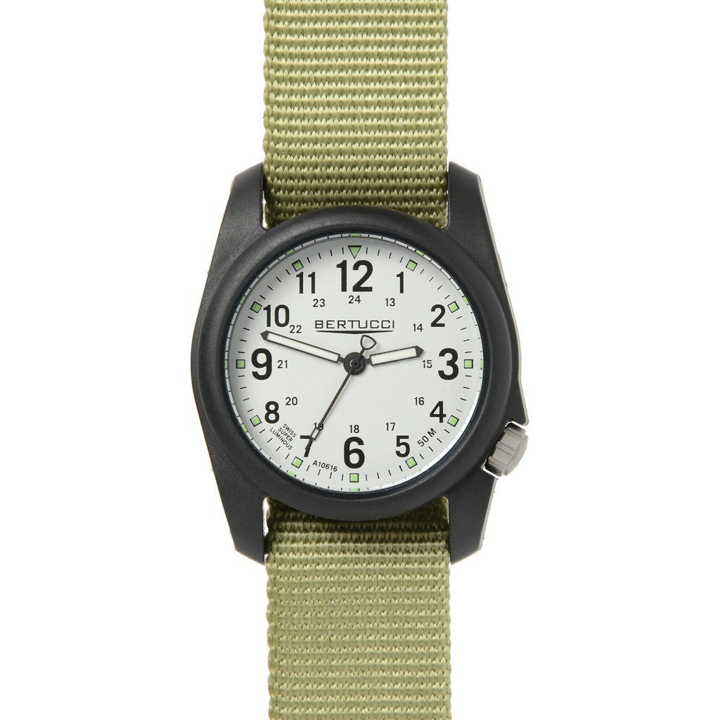 Bertucci Dx3 Field Watch | Stone/Patrol Green Nylon 11038