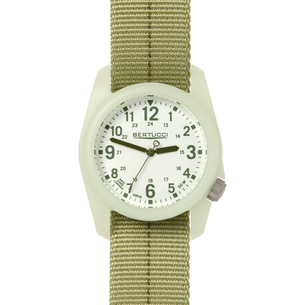 Bertucci DX3 Plus Field Watch | Patrol Green/Olive 11046