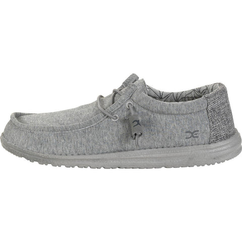 Hey Dude Wally Stretch Fleece Shoes | Grey