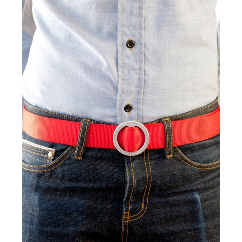 Topo Designs Web Belt | Red