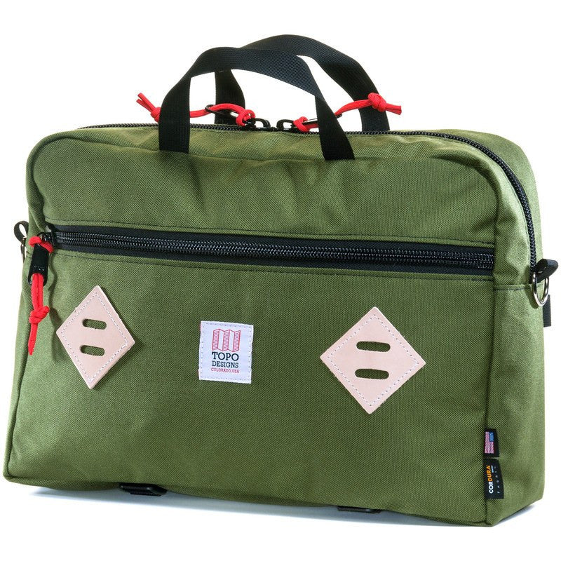 Topo Designs Mountain Briefcase | Olive