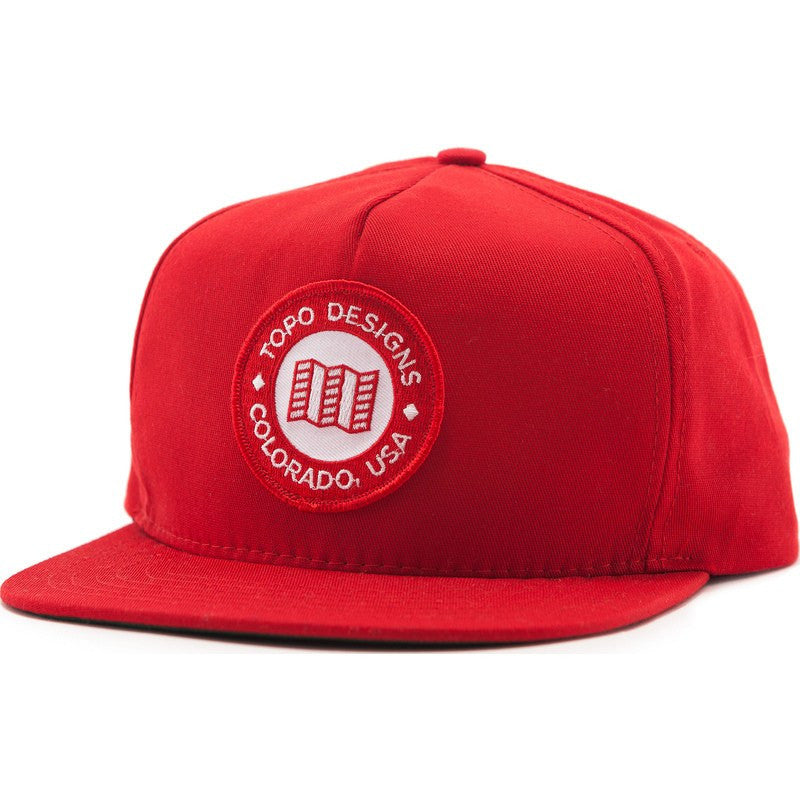 Topo Designs Ranger Hat | Red