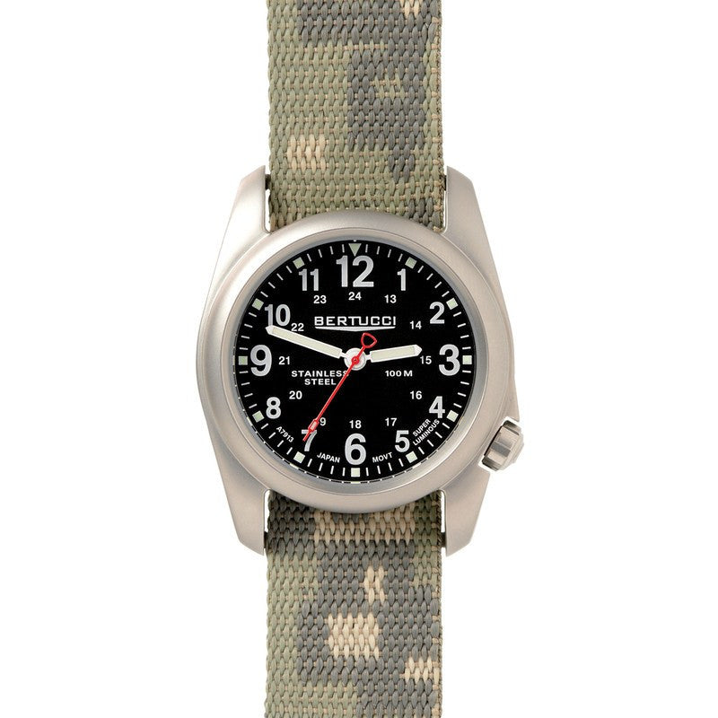 Bertucci A-2S Field Watch | Black/Digicam