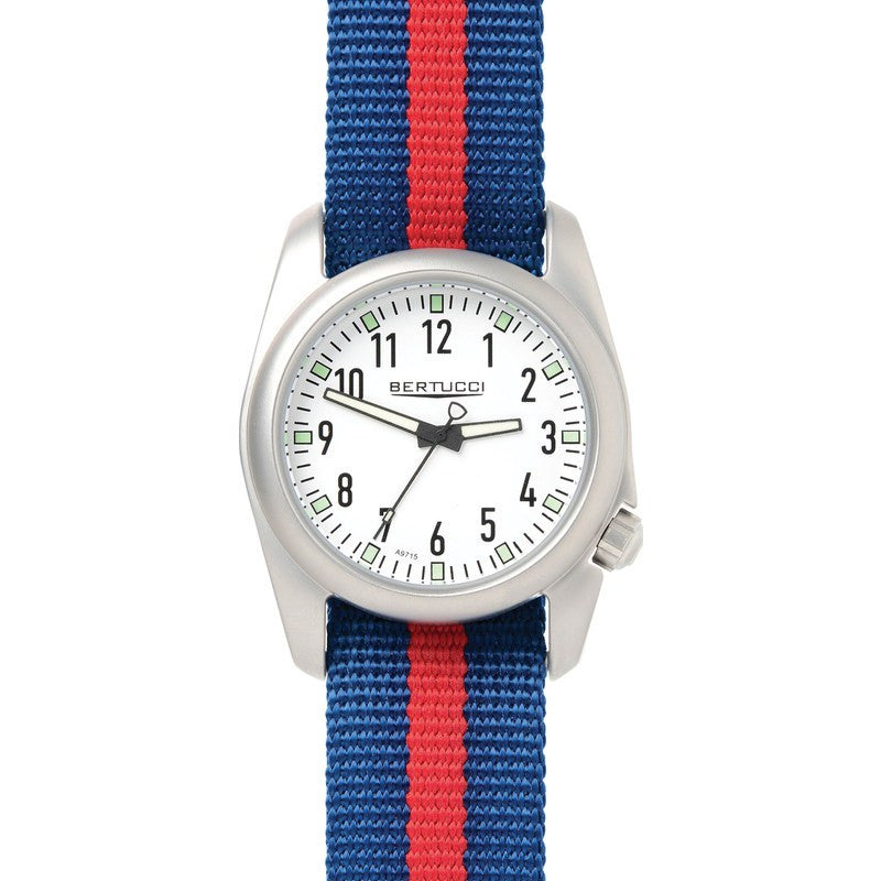 Bertucci Ventara Watch | White/Blue with Red 11057