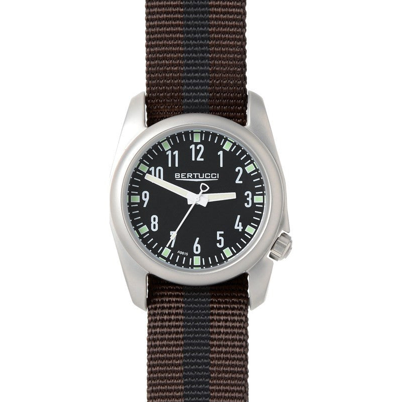 Bertucci Ventara Watch | Black/Brown with Black 11060
