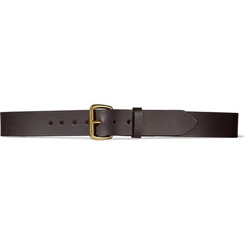 "Filson 1-1/2"" Leather Belt 