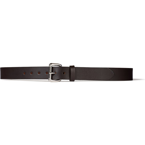 Filson 1-1/4 Leather Belt | Bridle-Brown Stainless 34 11063203