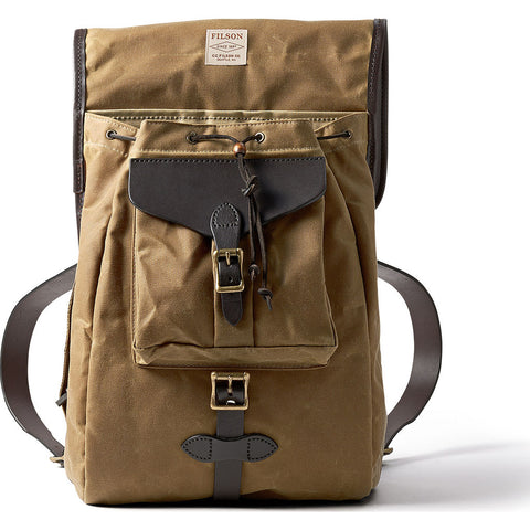 Filson Tin Cloth Backpack | Dark Tan- 11070017