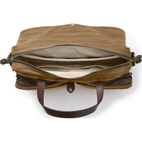 Filson 24-Hour Tin Briefcase | Dark Tan 11070140