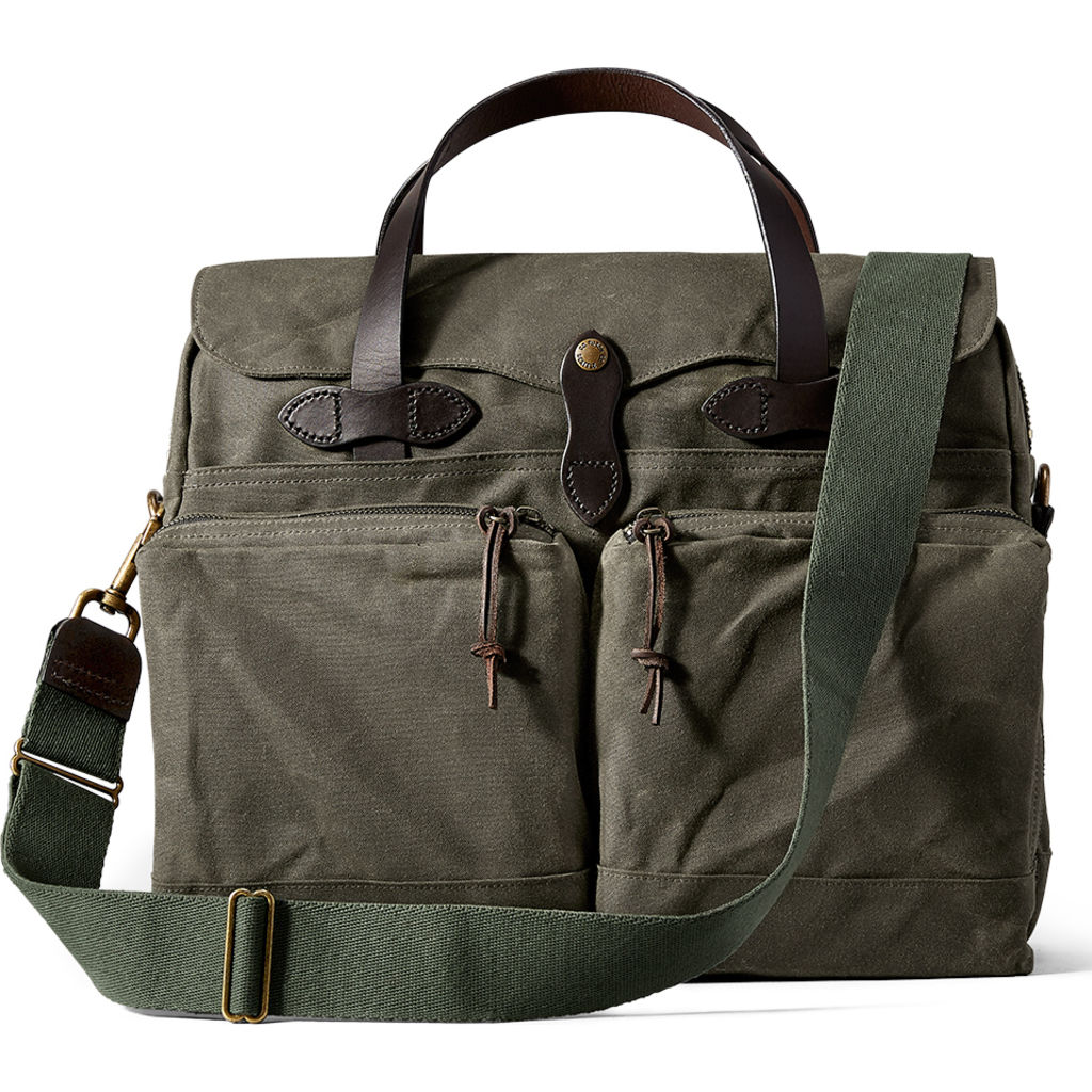 Filson 24-Hour Tin Briefcase | Otter Green- 11070140