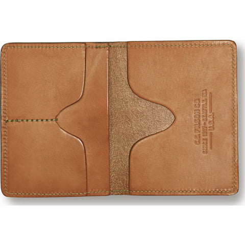 Filson Passport & Card Case | Tan 11070423TanLeather