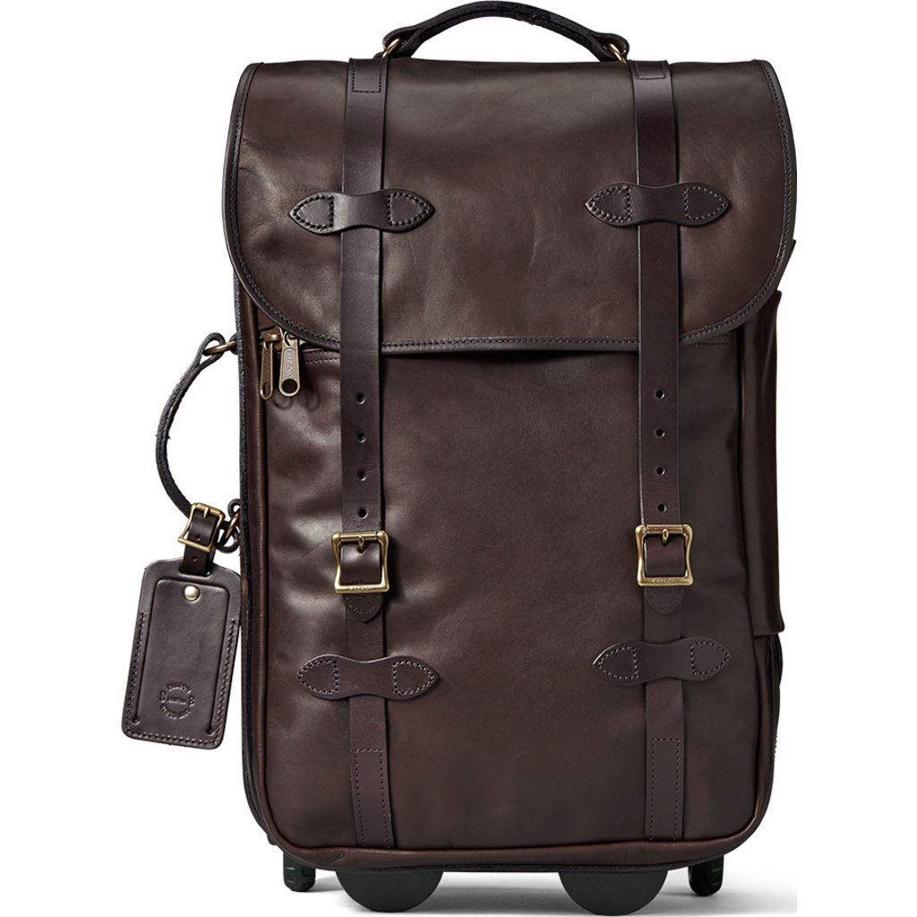 Filson Weatherproof Rolling Carry-On Bag | Sierra Brown 11070439SierraBrwn