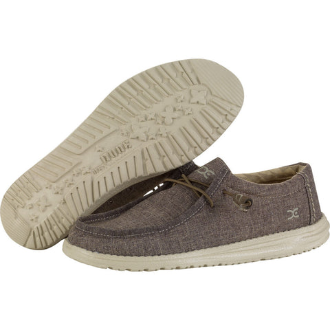 Hey Dude Wally L Linen Shoes | Rope