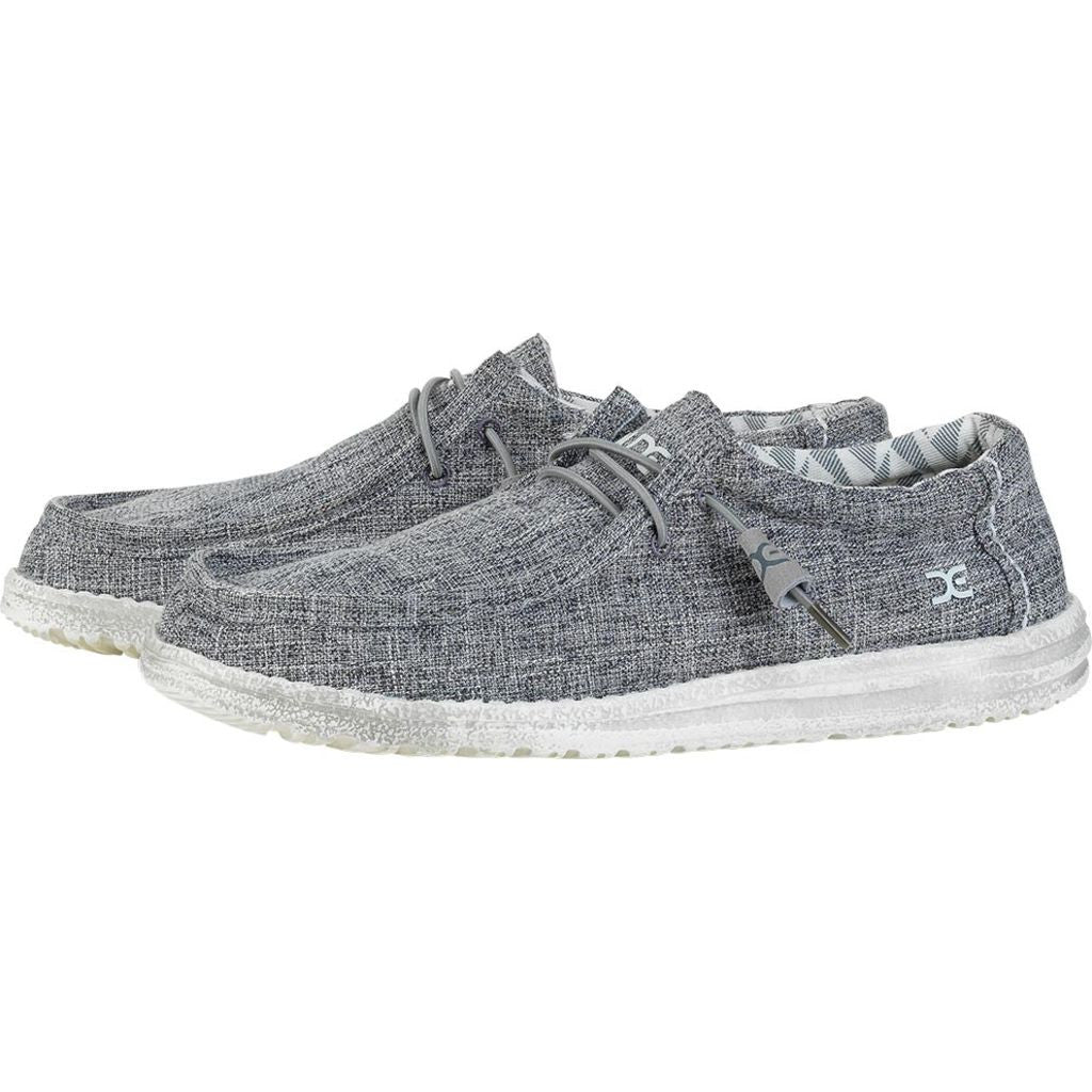 Hey Dude Wally Linen Shoes | Iron