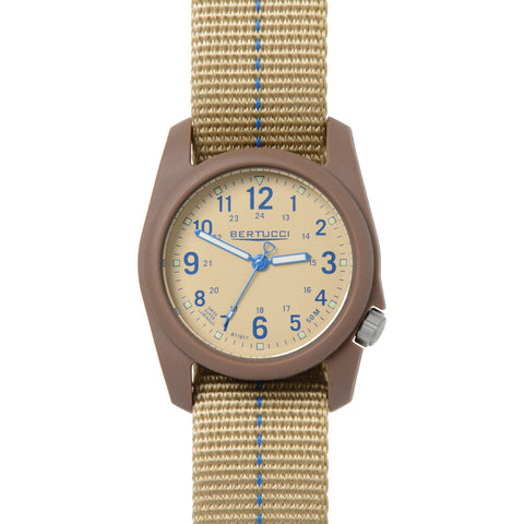 Bertucci DX3 Plus Watch | Patrol Khaki Blue 11080