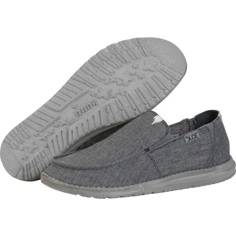 Hey Dude Chan Stretch Shoes | Steel