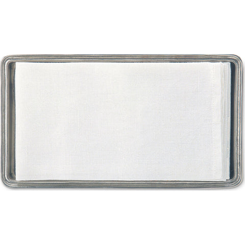 Match Guest Towel Tray | Pewter