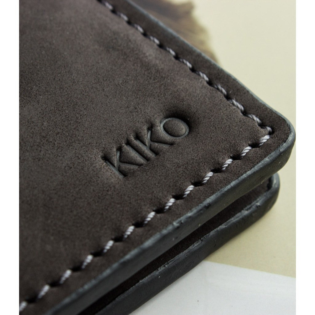 Kiko Leather Bi-Fold Wallet | Brown 112
