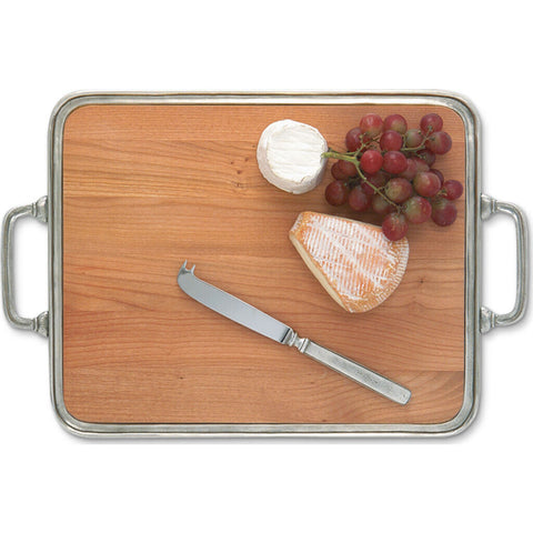 Match Cheese Tray w/ Handle