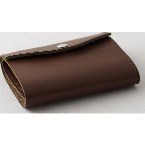 Orchill Artisan Tri-Fold Snap Closure Wallet | Brown