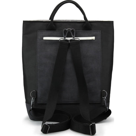 M.R.K.T. Caine Tote | Black Steel \ Elephant Grey 117510E