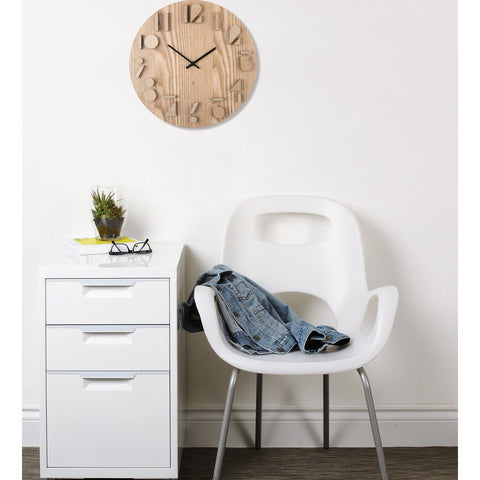 Umbra Shadow Wall Clock | Natural 118080-390
