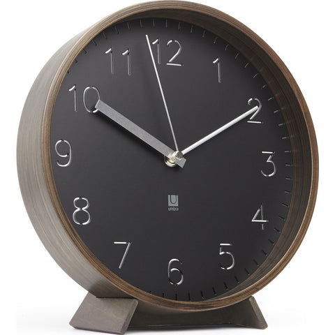 Umbra Rimwood Wall Clock | Aged Walnut 118140-746