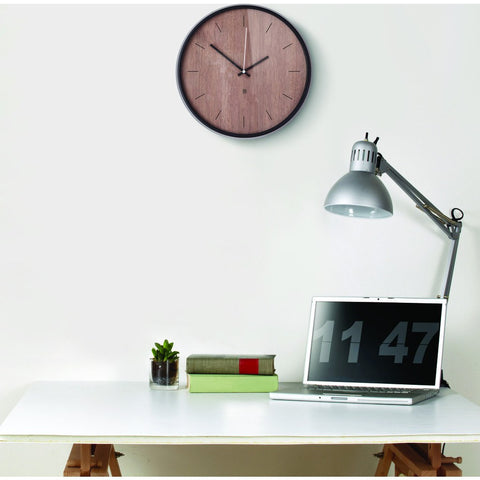 Umbra Madera Wall Clock | Walnut 118413-048