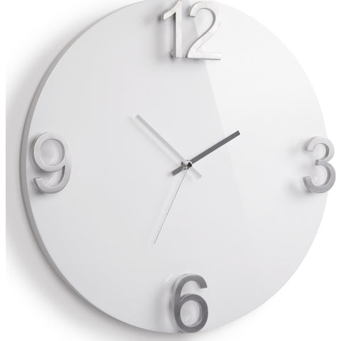 Umbra Elapse Wall Clock | White 118420-326