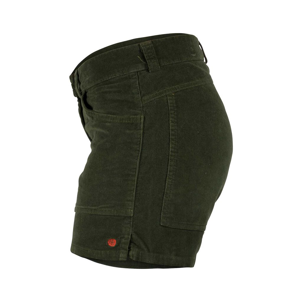 Amundsen 5INCHER CONCORD G.DYED SHORTS WOMENS | Olive | WSS53.4.450.XL