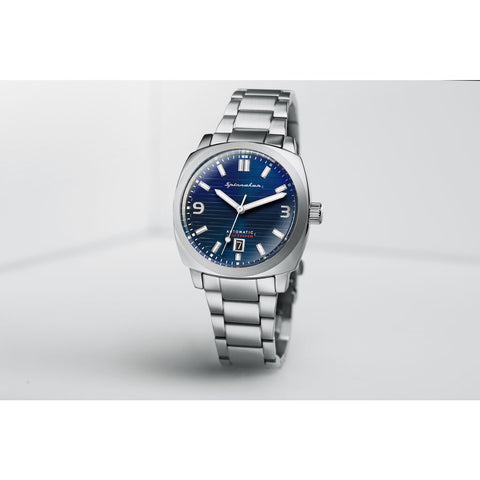 Spinnaker Hull Bracelet SP-5073-22 Automatic Watch | Blue/Steel