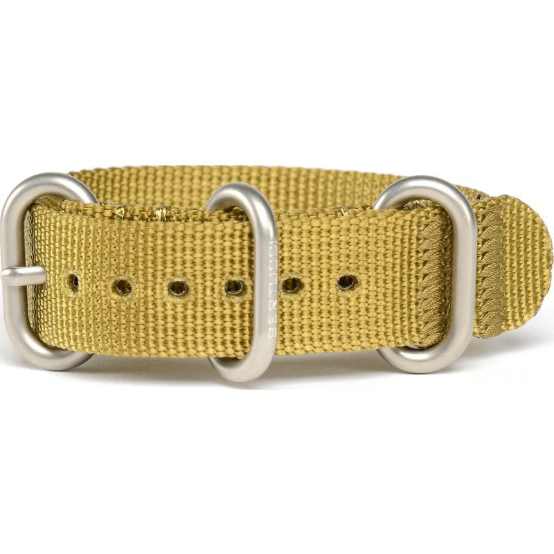 Bertucci DX3 Nylon Watch Band | Golden Khaki #120