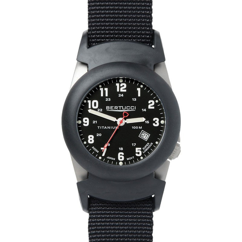Bertucci A-2T Original Classics Watch | Black/Black
