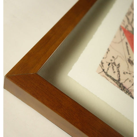 Resource Decor Arctic Triangle Print | Solid Wood