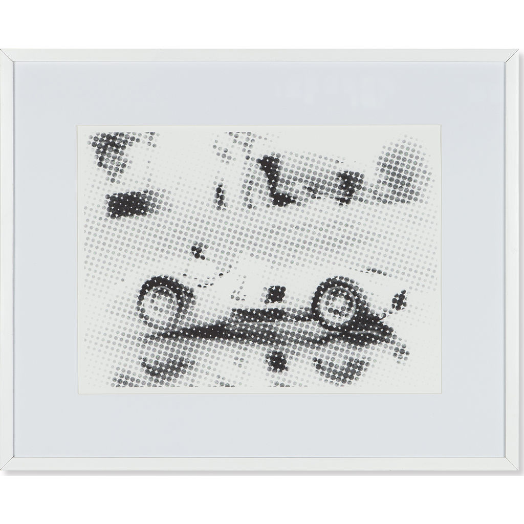 Resource Decor Mercedes Benz 1955 Print | Distressed Wood