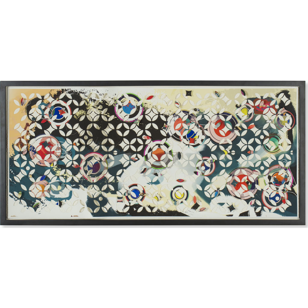Resource Decor Laser Cut Abstract Print | Museum Frame