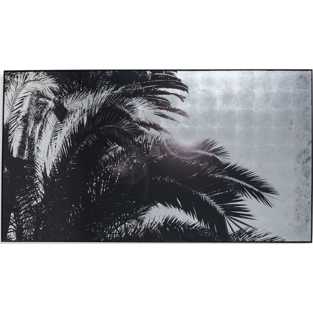 Resource Decor Sliver Leaf Palm Tree Print | Style A