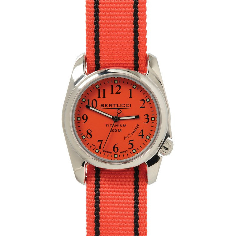 Bertucci Super Sport Watch | International Orange