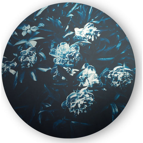 Resource Decor Circular Botanical Print | Aluminum