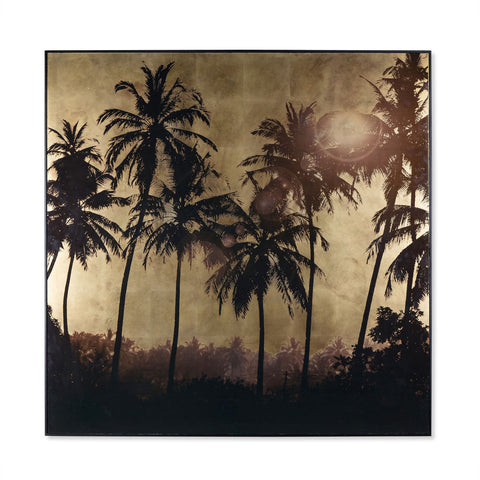 Resource Decor Gold Leaf Palm Tree Print | Grove
