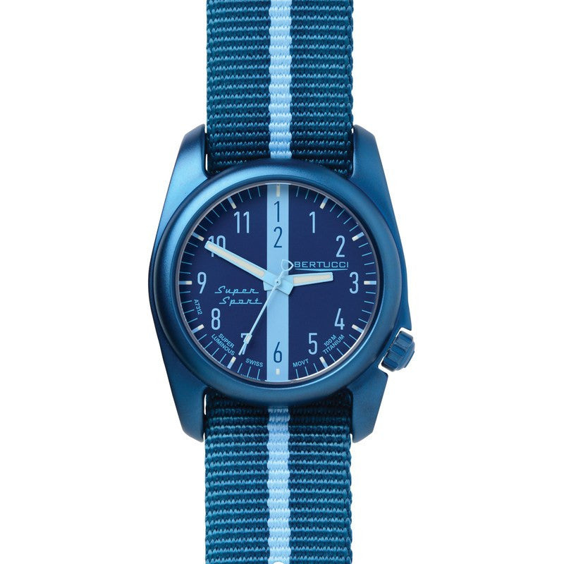 Bertucci Super Sport Watch | Monza Blue