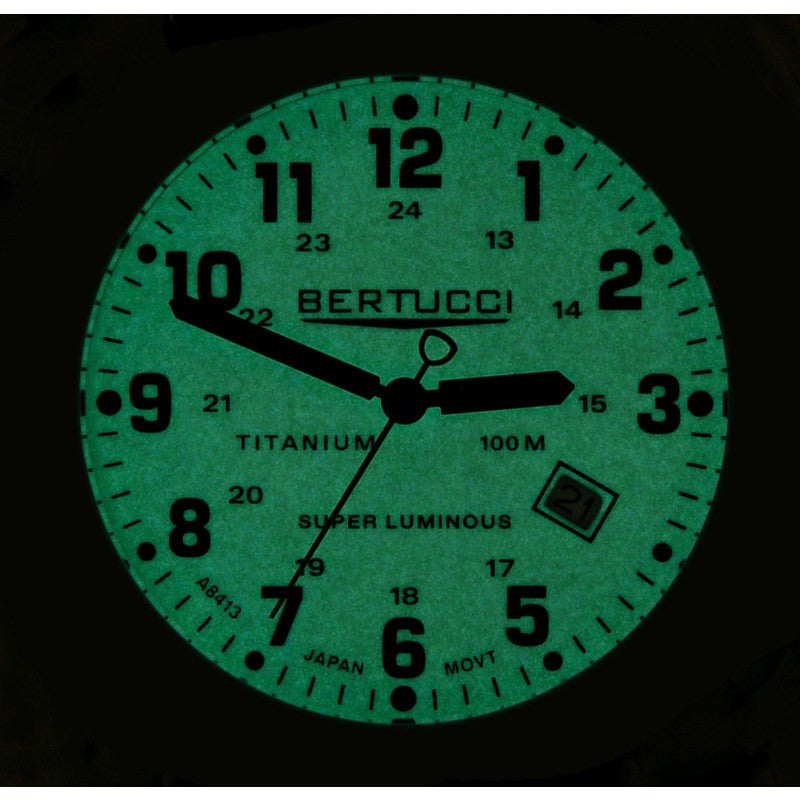 Bertucci A-2T Original Classics Watch | Super Luminous/Forest