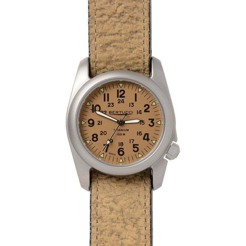 Bertucci A-2T Vintage Watch | US Khaki/Coyote Brown 12082