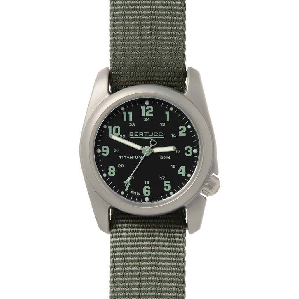 Bertucci A-2T Original Classics Watch | Black Drab/Defender Drab 12085