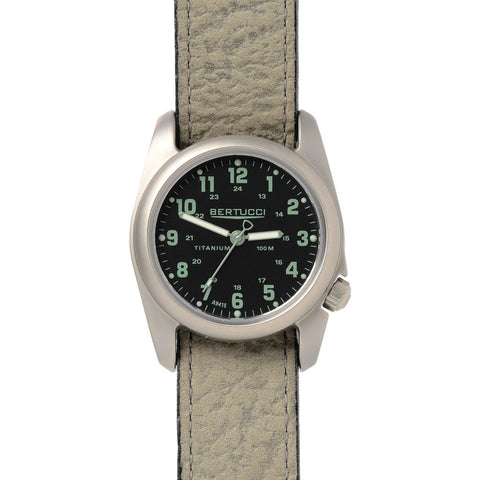Bertucci A-2T Original Classics Watch | Black/Foliage Survival Leather 12096