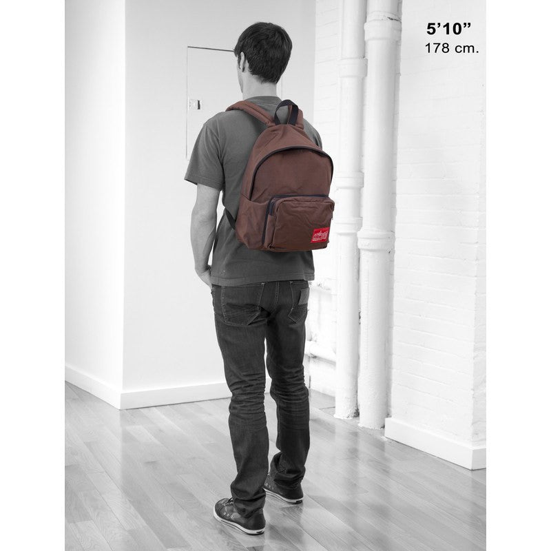 Manhattan Portage Medium Big Apple Backpack | Black 1210-BD BLK