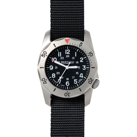 Bertucci A-2TR Vintage Watch | Black Nylon 12114