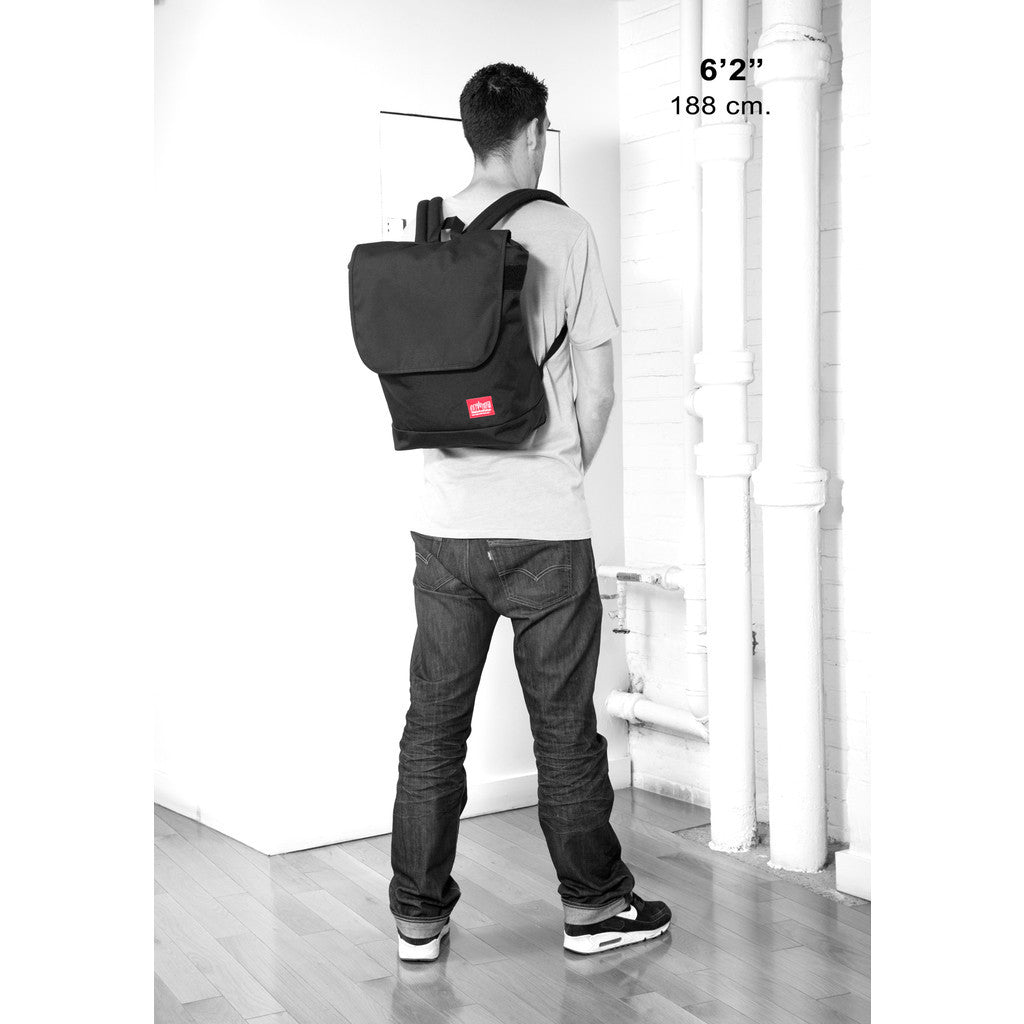 Manhattan Portage Gramercy Backpack | Black 1218 BLK/Grey 1218 GRY/Navy 1218 NVY/Red 1218 RED