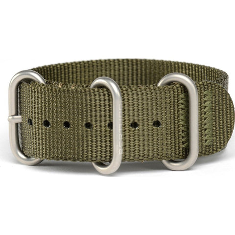 Bertucci DX3 Nylon Watch Band | Defender Olive #123